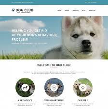 Dog Web Design Dog Website Design For Professional Breeders Motocms