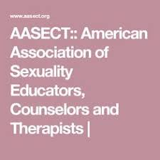 Image result for the American Association of Sex Educators, Counselors and Therapists).