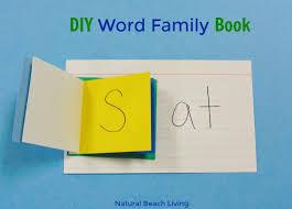 Activities Word Easy No Cost Diy Word Family Activities Book Natural Beach Living