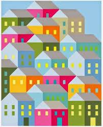 Pretty Little Quilts: Hillside Houses Quilt-A-Long   Quilting ... & Cottage design · Pretty Little Quilts: Hillside Houses ... Adamdwight.com