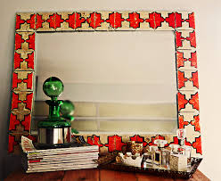 Tiled Moroccan Mirror Maker Crate