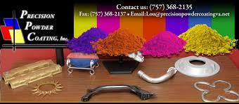 Precision Powder Coating Colors
