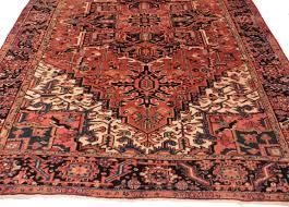 persian heriz 8x10 wool oriental rug 7084