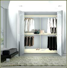 closet rod height double hang two tier standard closet rod height