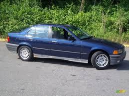 Malediven Blue Metallic 1994 BMW 3 Series 318i Sedan Exterior ...