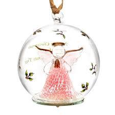 2016 Angel Glass LED Ornament Christmas Ornament | Spode Christmas Tree  Decoration | Christmas Angel