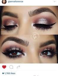 pink eye makeup for brown eyes