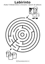 Labirinti Da Stampare Per Bambini Di 5 Anni Circa Pianetabambiniit