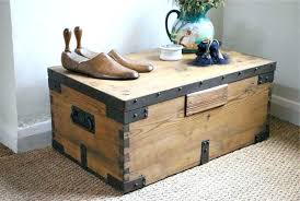 square chest coffee table rustic trunk coffee table the most style ideas tables throughout prepare square