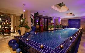 indoor home swimming pools. Beautiful Indoor Swimming Pool With Pretty Decoration Home Pools S