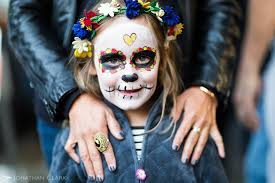 dia de los muertos day of the dead san francisco face paint skull photo jonathan clark girl painted face