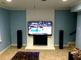 mounting tv above gas fireplace mounting above fireplace hang over mounting tv above gas fireplace chic and modern wall