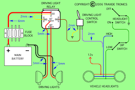 wiring diagram needed to install piaa 80 series lamps on 4 6hse