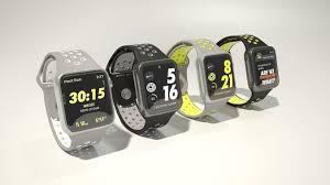 apple nike watch. apple watch nike plus 3d model max obj fbx 2