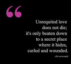 Unrequited Love Quotes Fascinating Unrequited Poems