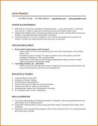 Realtor Resume Sample Realtor Resume Examples Of Job Description For On Beautiful Real 21