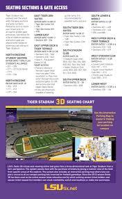 Lsu Stadium Club Seating Chart 2016 Lsu Football Fan Guide By Lsu Athletics Issuu