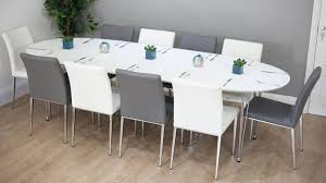 round glass dining room tables for 8 round black glass dining innovative 8 seater dining room