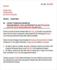Termination Letter Description Simple 44 Termination Letter Examples DOC PDF AI Free Premium