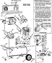 Repair parts for the c bell hausfeld models vt6233 vt6235 vt6233 vt6235 vt6236 tank parts leeyfo image