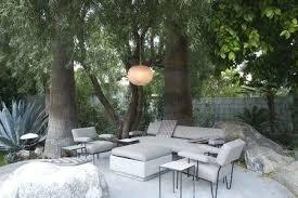 outdoor furniture garden in palm springs home patio desert ca