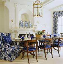 dramatic dining room in blue blue and white dining room ideas m75 ideas