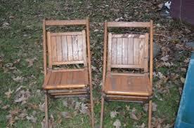 child size folding chairs. Vintage Wood Slatted Folding Chairs (2 Adult, 1 Child Size) Size L