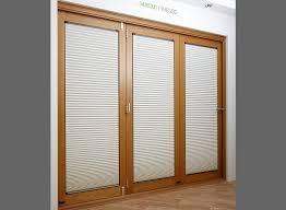 finesse oak 3m approx 10ft internal bifold door blinds