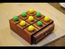 Wooden Board Games To Make How to Make a Marble TicTacToe Board woodlogger YouTube 59