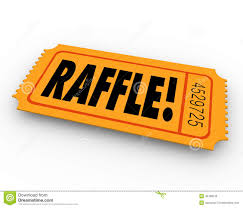 raffle sign raffle ticket word enter contest winner prize drawing stock