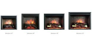 classic flame electric fireplace slash s