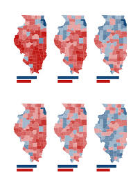 Presidental Election Results Illinois Presidential Vote Results By County Chicago Tribune