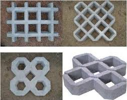 Após seu assentamento, podem ser retirados e reaproveitados em outra obra ou local. Concregrama Pisograma E Piso Drenante Varios Modelos Construagro
