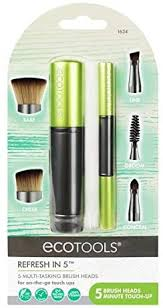 <b>EcoTools Refresh in 5</b> Retractable Makeup Brush Set: Amazon.co ...