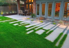 Stone Paver Designs For Walkways Modern Concrete Paver Walkway Ideas