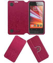 Celkon A69 Flip Cover by ACM - Pink ...