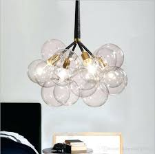 glass bulb chandelier project large small crystal faceted chandelier beaded bulb cover glass cer covers