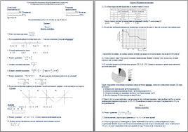 работа по алгебре за курс класса Экзаменационная работа по алгебре за курс 8 класса