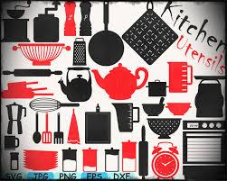 kitchen utensils split silhouette. Delighful Split Zoom Kitchen Utensils Monogram Silhouette Cameo Cutting Files Cut  Ilfullxfull Ixa Throughout Split G