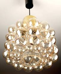 glass bubble chandelier floating light fixtures design ideas lamp entrance foyer dining table fixture bubbles by