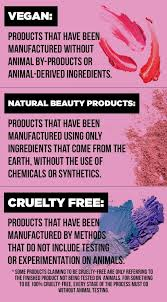 a prehensive guide to vegan free and natural beauty