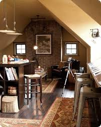 attic home office attic office ideas