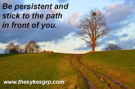 Persistence Quotes New Motivational Quotes For Persistence The Sykes Group's OnPoint