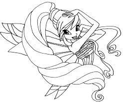 Tranh Tô Màu Công Chúa Phép Thuật Winx - Stella - Phần 26