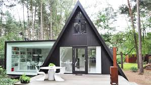 They seem incredibly inefficient in terms of space, but they look so damn  cool that I don't care. Triangle houses - AKA A-frame houses - have always  been ...