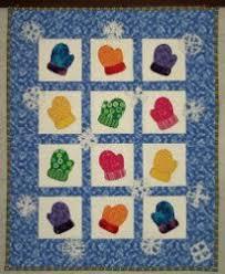 Adorable Winter Mittens Wall Hanging | Free applique patterns ... & Adorable Winter Mittens Wall Hanging Adamdwight.com