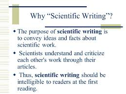 Scientific Writing Scientific Writing In Medical Sciences Ppt Video Online