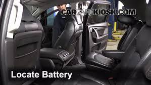 battery replacement 2007 2016 gmc acadia 2007 gmc acadia sle 3 6l v6 battery replacement 2007 2016 gmc acadia