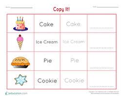 Kindergarten Handwriting Worksheets Free Printables Education Com