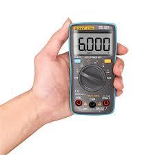 <b>ZT101 ZT102 Auto Digital</b> Multimeter 6000 Counts Backlight AC/DC ...